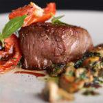 carne alla piastra con porcini