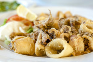 fritto misto di calamari